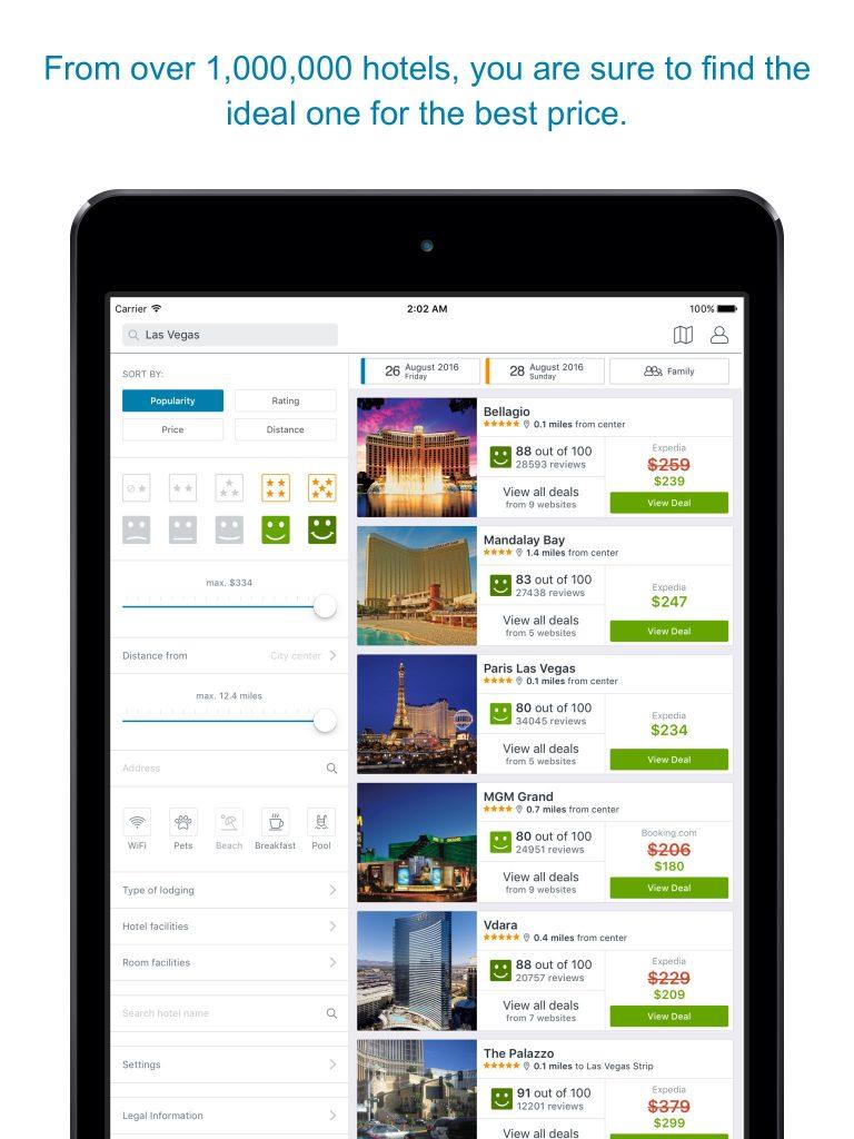 trivago-app-hoteles